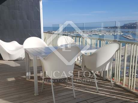 Modern penthouse for sale in the centre of Denia