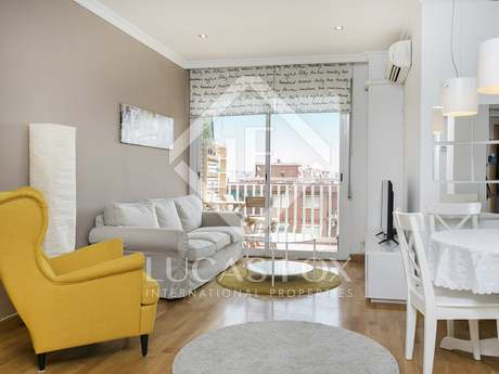 Appartement van 85m² te huur in Diagonal Mar, Barcelona