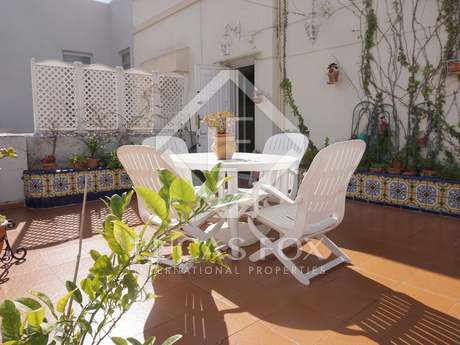 300m² penthouse with 30m² terrace for sale in Sant Francesc