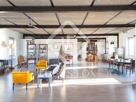 Designer loft apartment for sale in Poblenou, Barcelona City