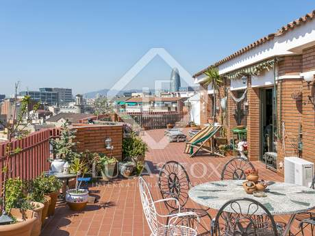 93m² Penthouse with 117m² terrace for sale in Poblenou