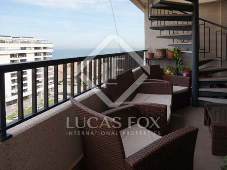 Penthouse with sea views for sale in Playa Patacona