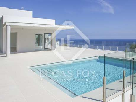 New build modern villa for sale near Begur on the Costa Brava