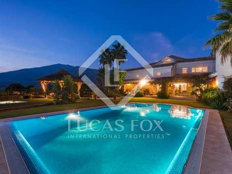 Villa de lujo en venta en La Zagaleta, cerca de Marbella