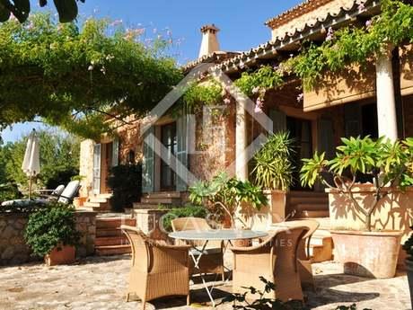 Casa de campo en venta cerca de Alaró, centro de Mallorca.