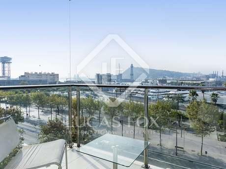 Àtic amb 2 terrasses en lloguer a la Barceloneta, Barcelona