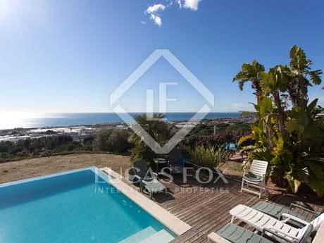 Villa en vente à Premià de Dalt sur la côte Maresme