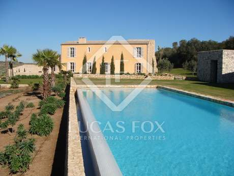 New build country villa for sale in Mallorca, Montuiri