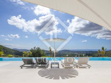Majestic villa with stunning sea views for sale in Ibiza