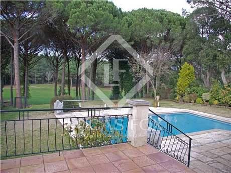Frontline golf property for sale in Santa Cristina d'Aro