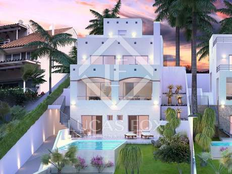 Outstanding new Ibiza-style house for sale in Vallpineda