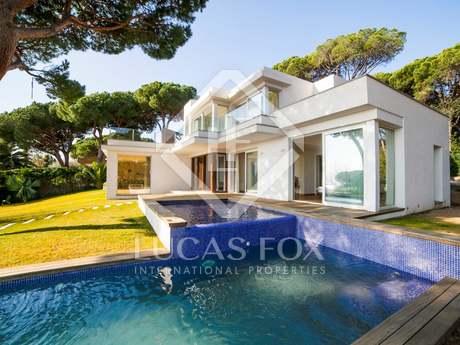 Villa de luxe en vente à Blanes à la Costa Brava avec vue sur la mer