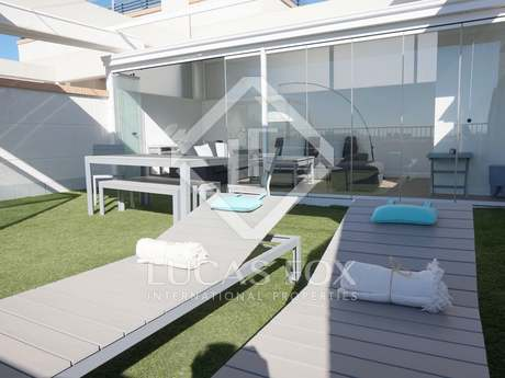 Penthouse with panoramic views for rent in Patacona, Valencia
