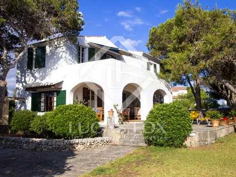 Front line villa for sale in West Menorca