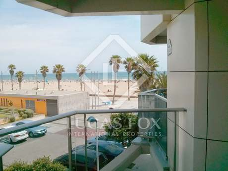 Apartment with sea views for sale next to Paseo Patacona