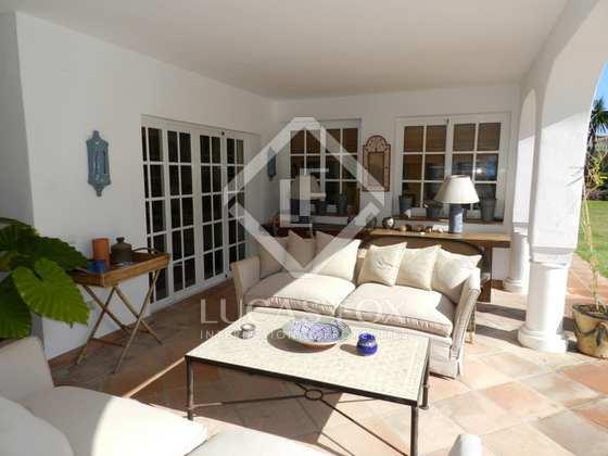 Terrace - 4 Bed Villa Guadalmina Baja, Marbella : 4