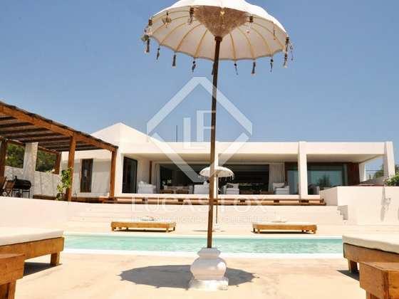 Modern villa for holiday rent near Ibiza Town  Talamanca
