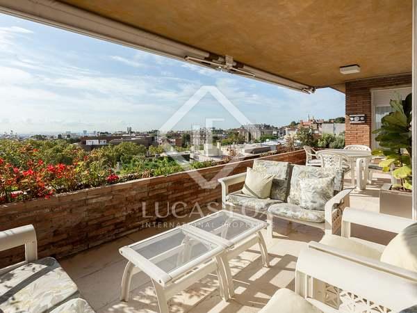 Ático de 434 m² con 230 m² de terraza en venta en Pedralbes