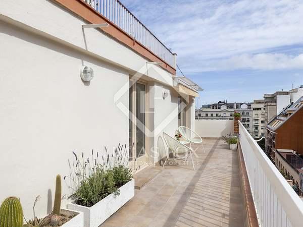 Пентхаус 42m², 20m² террасa аренда в Грасия, Барселона