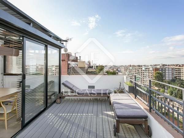 110 m² penthouse with 37 m² terrace for rent in El Putxet