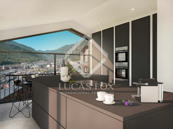 227m² Apartment with 39m² terrace for sale in Escaldes