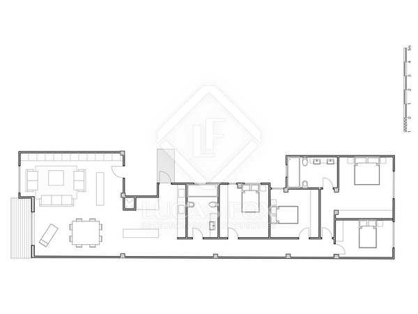 Appartement van 197m² te koop met 6m² terras in El Pla del Remei