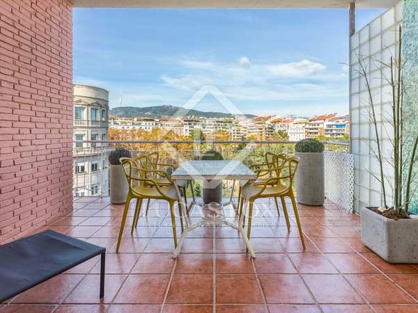 Ático de 160 m² con 19 m² de terraza en venta en Turó Park