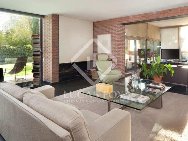 Designer modern house for sale in Sant Cugat, Barcelona