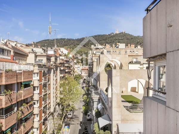 190 m² apartment with terraces for rent in La Bonanova