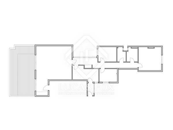 Appartement van 130m² te koop met 30m² terras in El Pla del Remei