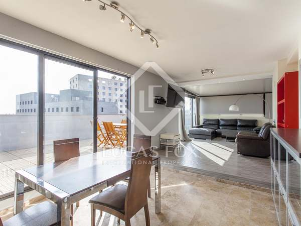 120m² Penthouse with 120m² terrace for rent in Ciudad de las Ciencias