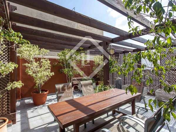Attico di 195m² con 60m² terrazza in vendita a Extramurs