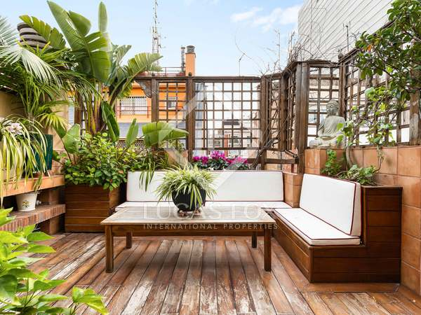 137m² Penthouse with 13m² terrace for sale in Sant Gervasi - Galvany