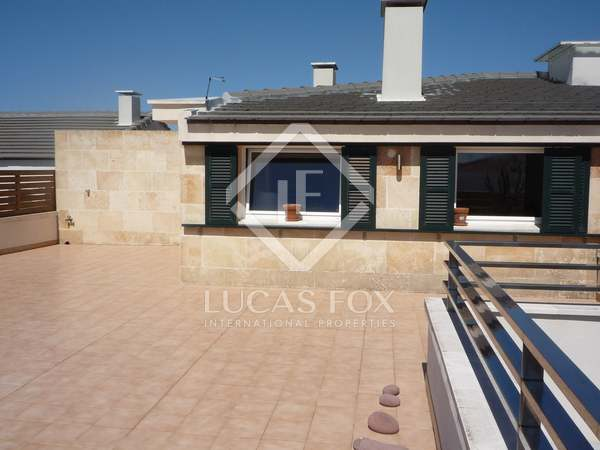 120m² Penthouse with 85m² terrace for sale in Ciudadela