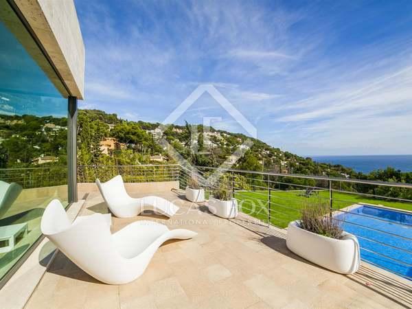 Luxe villa te koop in Blanes aan de Costa Brava