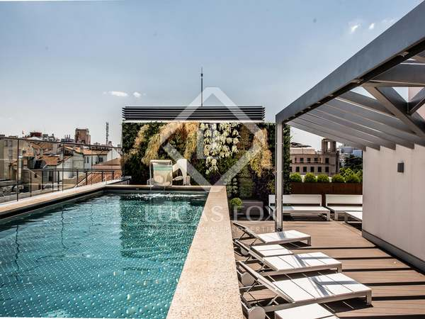 Stunning duplex penthouse with terrace in the luxury area of Recoletos
