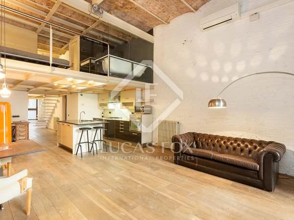 150m² Loft with 50m² terrace for sale in Gràcia, Barcelona