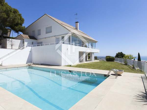 6-bedroom villa for rent in Bellamar, Castelldefels