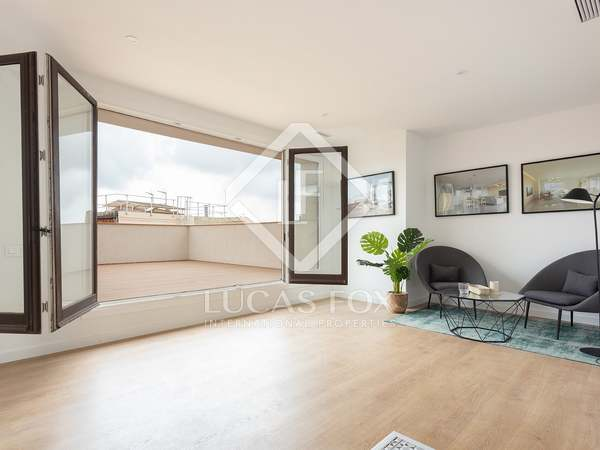 Penthouse van 96m² te koop met 30m² terras in Sant Antoni
