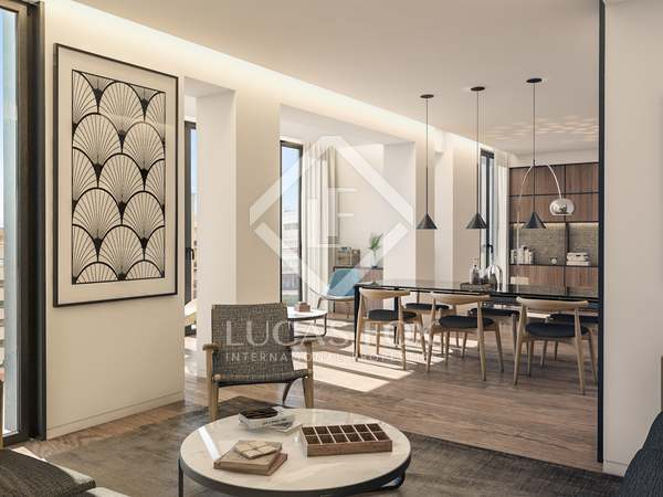 Квартира 130m² на продажу в Правый Эшампле, Барселона