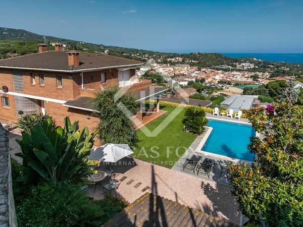 409m² House / Villa with 650m² garden for sale in Sant Andreu de Llavaneres