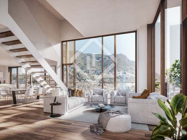 212m² Apartment with 40m² terrace for sale in Escaldes