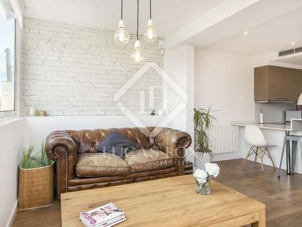 70m² Wohnung mit 20m² terrasse zur Miete in Les Corts