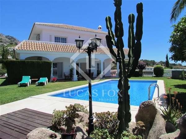 Modern villa for sale in Mijas, Costa del Sol