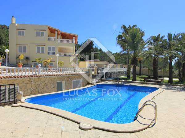 Beautiful villa for sale in Cap Martinet, Jesús, Ibiza