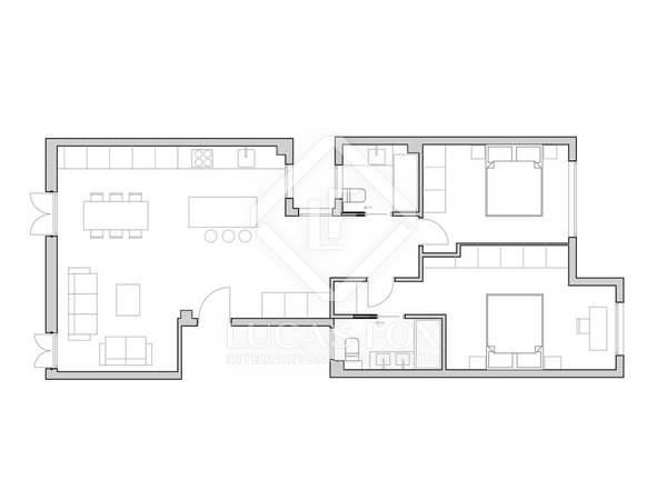83m² Apartment for sale in Ruzafa, Valencia