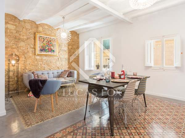 82m² apartment for sale in the Gothic area of Barcelona