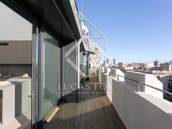 Penthouse van 151m² te koop met 41m² terras in Eixample Rechts