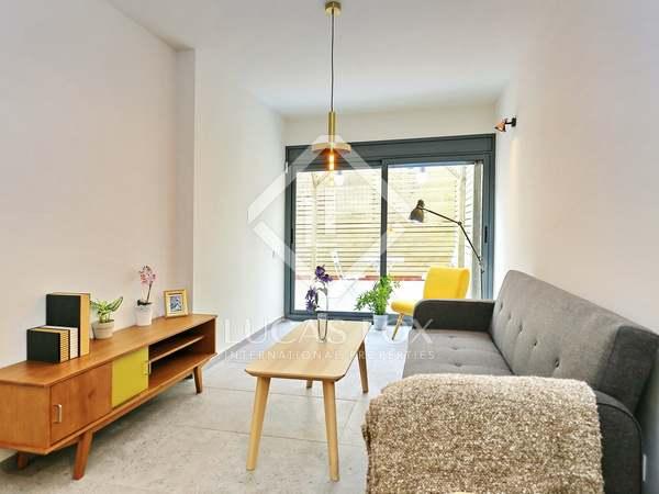 Appartement van 60m² te koop met 30m² terras in Poble Sec