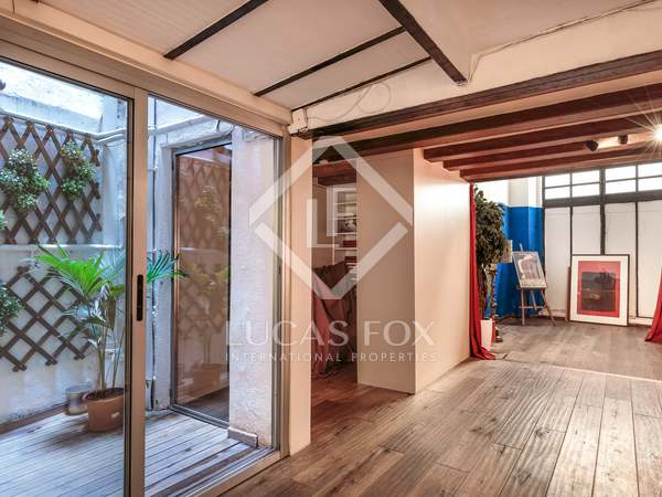 159m² loft for sale in the heart of the Gothic quarter